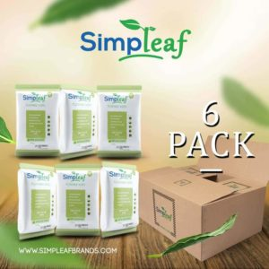 Simpleaf Flushable Wipes