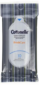 Cottonelle Fresh Care Flushable Wipes, Travel Pack